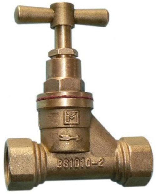 "1/2"" Brass Female Thread Stopcock"