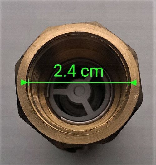 "3/4""  Double Check Valve  - DZR Female Thread"