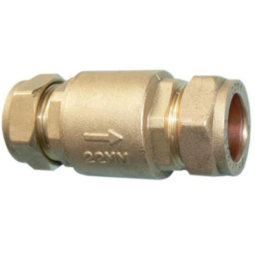 28mm Full Flow Spring Check Valve