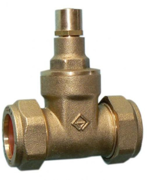 28mm Economy Lockshield Gate Valve