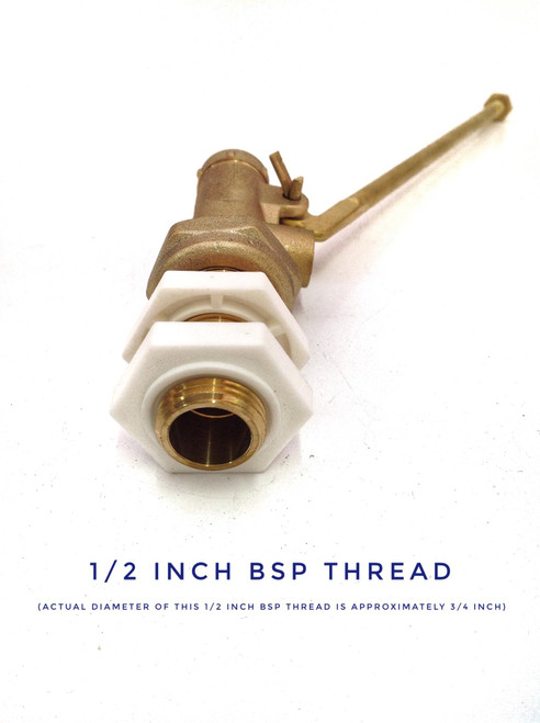 "1/2"" High Pressure Float Valve with 8 1/2"" Arm"