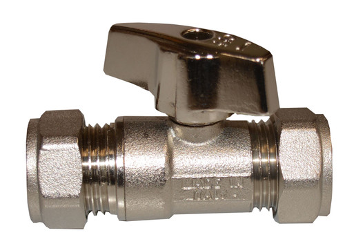15mm Isolation Valve with Metal Handle