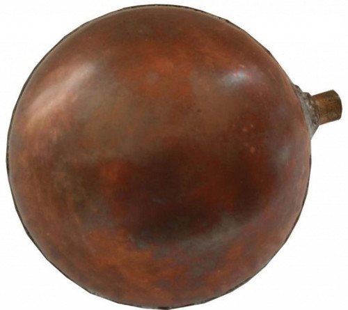Copper Ball Float - 4.5 Inch Diameter