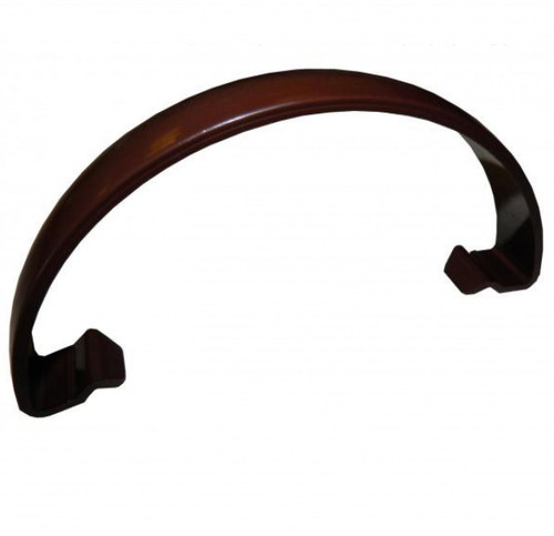 FLOPLAST 112mm Round Gutter Clip - Brown