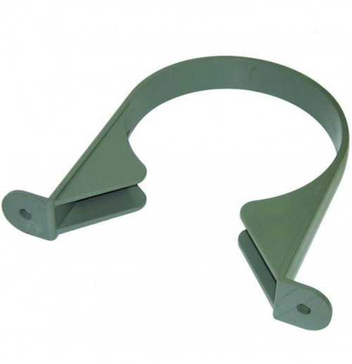 FLOPLAST 110mm soil pipe clip grey
