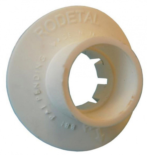 "Big Boss Soil Pipe Adaptor - 110mm to 1 1/4"" White"
