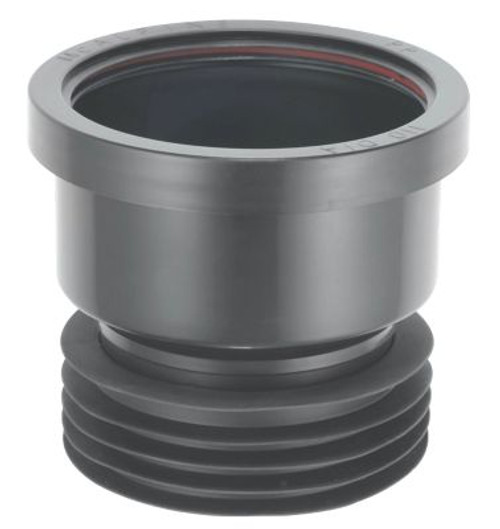 McAlpine Black Drain Connector - DC1BL