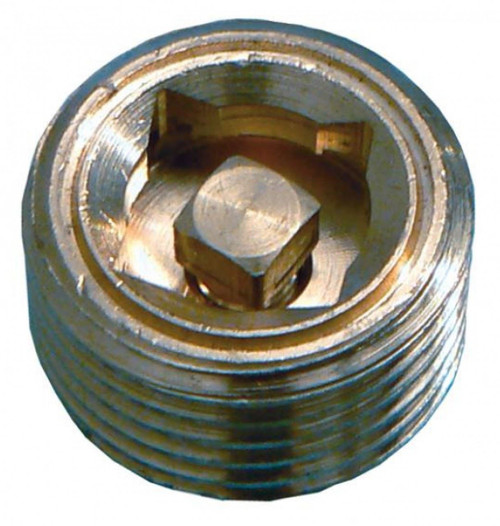 "1/8"" Brass Radiator Air Vent"