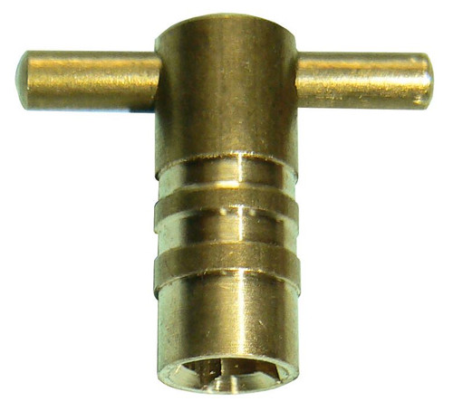 Radiator Bleed Key - Brass