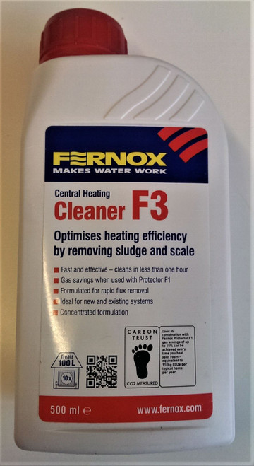 FERNOX F3 cleaner ,500ml