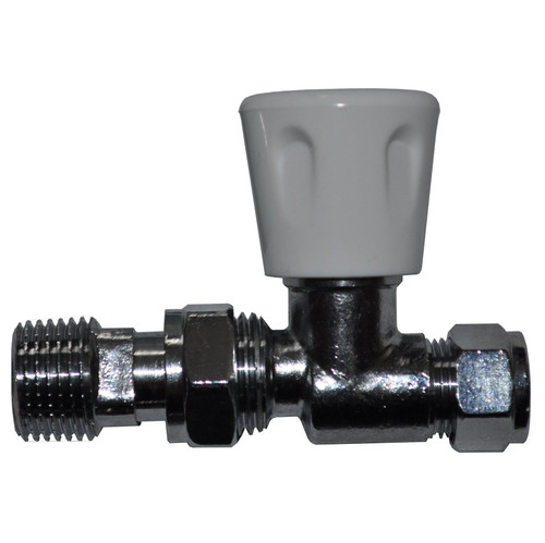 10mm Straight Radiator Valve - Genbra