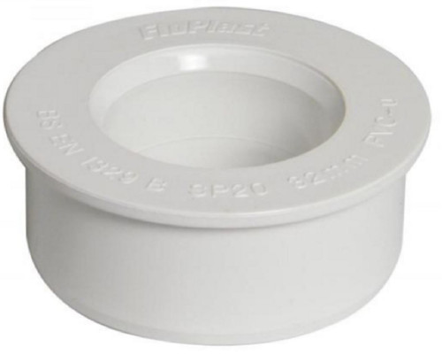 32mm White Solvent Boss Adaptor