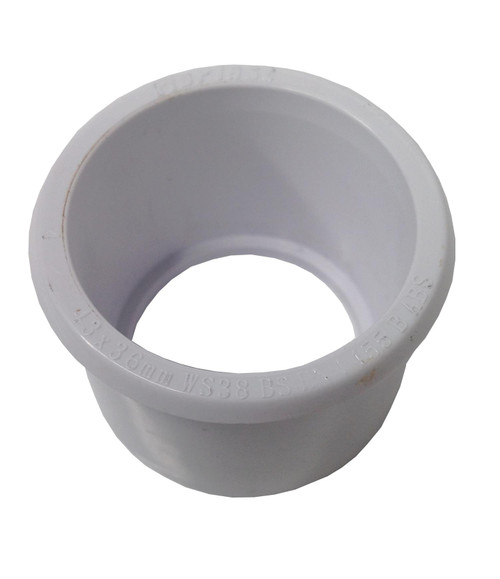 Solvent Weld White 50mm (56mm) x 32mm (36mm) Waste Reducer