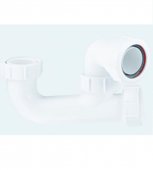"McAlpine 1 1/2"" x 50mm Bath Trap with Eye- SM10"