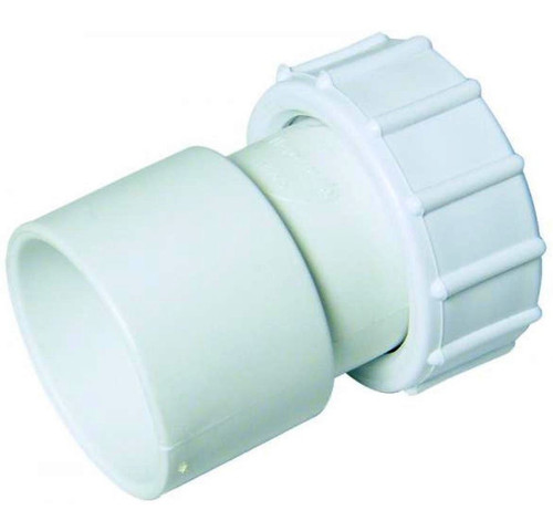FLOPLAST ABS Solvent 40mm Female Adapter - White