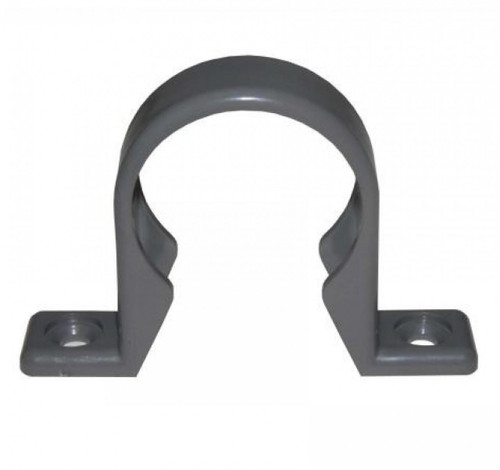 FLOPLAST ABS Solvent 40mm Waste Pipe Clip - Grey