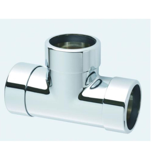 McAlpine 42mm Chrome Plated Tee - 42ECB
