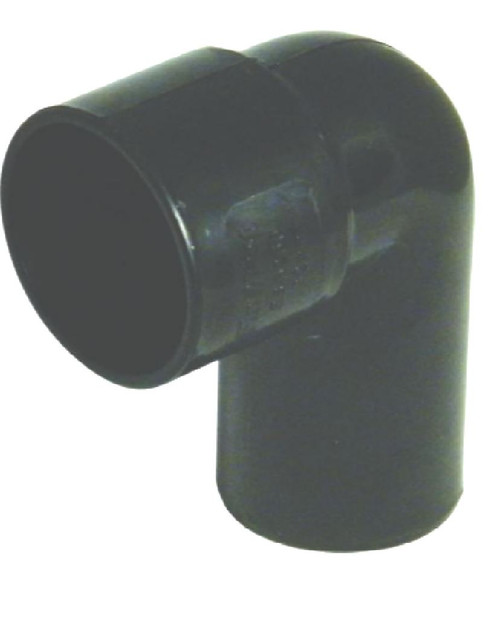 32mm Black Solvent Waste Pipe 90 Degree Conversion Bend