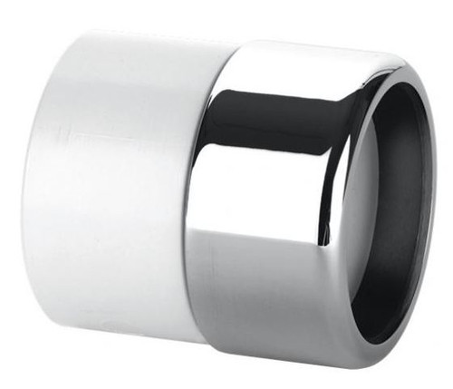 McAlpine ABS32/35x1.1/4 Inch Solvent Weld Chrome Straight Adapter