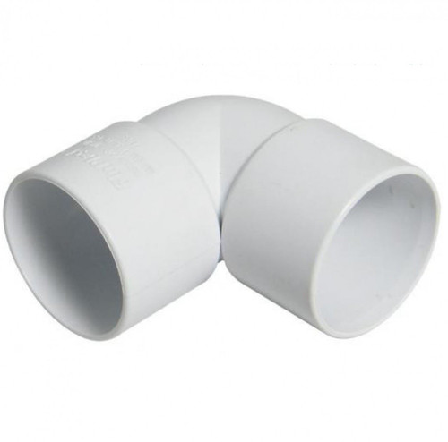FLOPLAST ABS Solvent 90 Degree 32mm Waste Knuckle - White