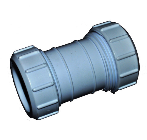 Compression 50mm Waste Pipe Coupling
