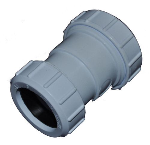 Compression 40mm x 32mm Waste Pipe Reducing Coupling