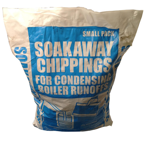 5kg of condensate soakaway limestone chippings