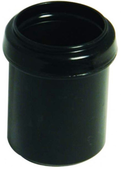 FLOPLAST 40mm x 32mm Black Pushfit Waste Pipe Reducer