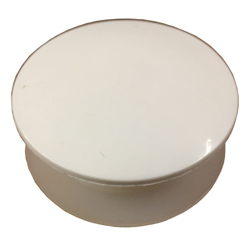 Long Thread White Tap Hole Stopper