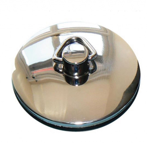 "1 1/2"" Chrome Sink Plug with Chain"