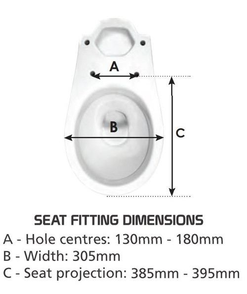 Celmac Crescent Black Child Toilet Seat