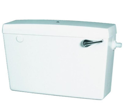 Macdee Elan White Toilet Cistern - Bottom Inlet