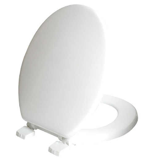 CELMAC Paramount White Moulded Wood Toilet Seat