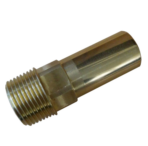 "15mm x 1/2"" SPEEDFIT Male Brass Stem Adaptor"