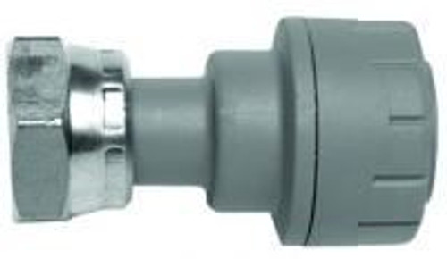 "Polyplumb 22mm x 3/4"" Straight Tap Connector - PB722"