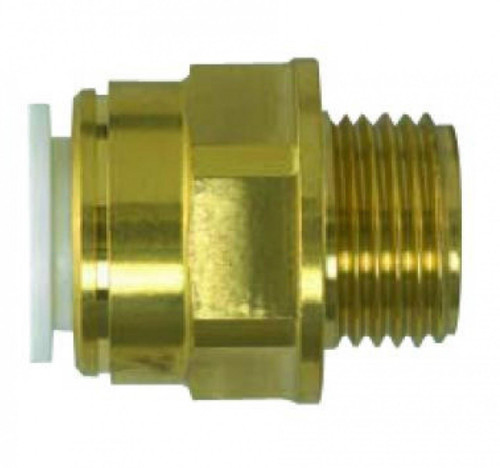 "15mm x 1/2"" SPEEDFIT Parallel Brass Male Adapter"