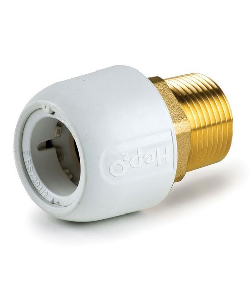 Hep2O 28mm x 1 Inch Male Adaptor