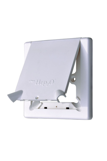 Hep2O Radiator Outlet Cover with Flap