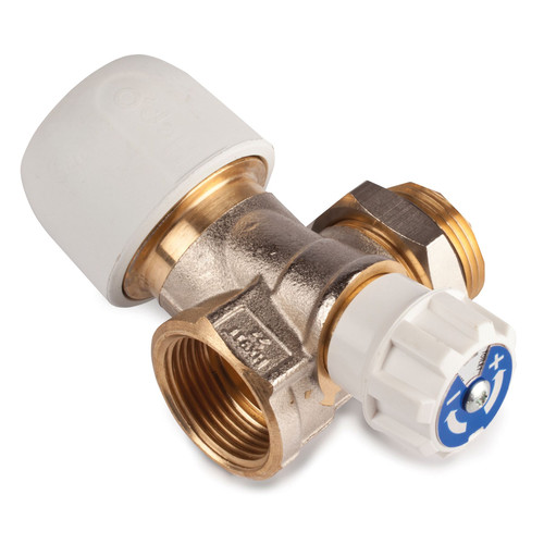 Hep2O 22mm x 3/4 Inch Brass 1 Port Manifold