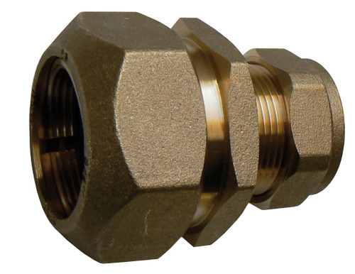 """3/8"""" 5lb Lead to 15mm Copper Pipe Fitting - Lead X"""