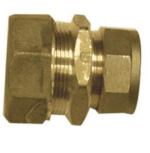 25mm MDPE to 15mm Compression Reducing Coupling