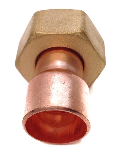 """15mm x 1/2"""" BSP End Feed Straight Tap Connector"""