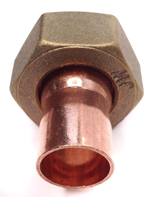 "15mm x 3/4"" BSP End Feed Straight Tap Connector"