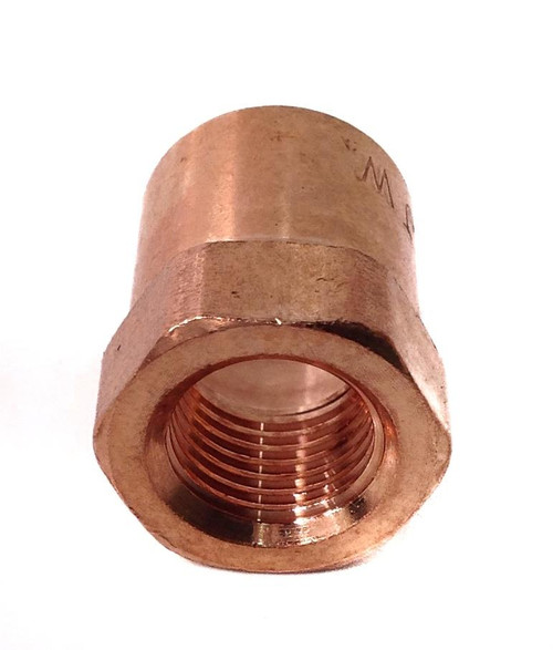 "15mm x 1/4"" BSP End Feed Female Iron Adaptor"