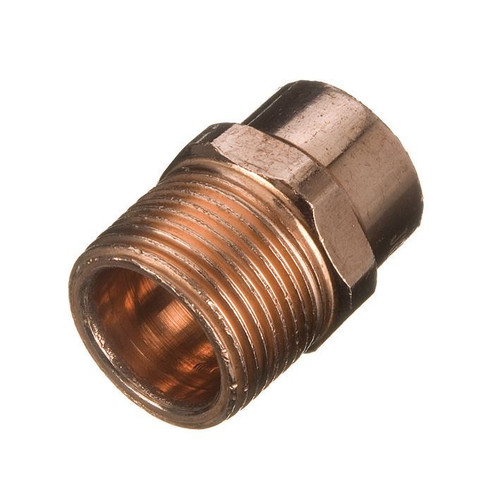 "22mm x 1"" End Feed Male Iron Adaptor"
