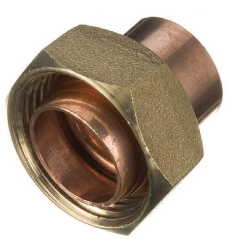"22mm x 1"" End Feed Cylinder Union"