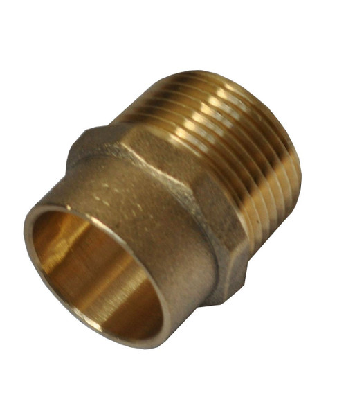 "22mm x 3/4"" Solder Ring Male Iron Adaptor"