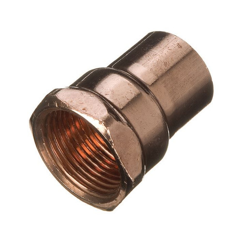 "15mm x 1/2"" BSP End Feed Female Iron Adaptor"