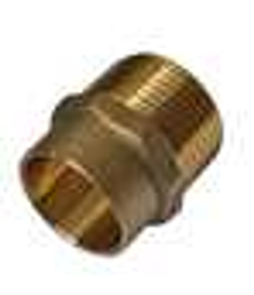 "15mm x 1/2"" Solder Ring Male Iron Adaptor"