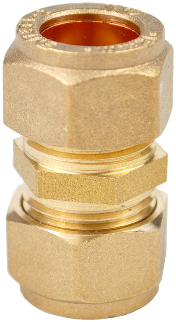12mm Brass Compression Coupling
